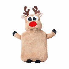 Avon Reindeer Hot Water Bottle & Cover (New & Sealed)