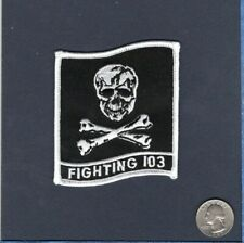 VF-103 JOLLY ROGERS US NAVY Grumman F-14 TOMCAT Fighter Squadron Patch