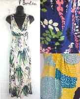 Ex Boden Ladies Jersey Summer Calf Length Maxi Dress in 3 Styles 8 10 12