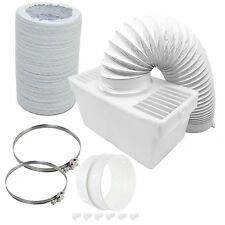 600cm Pipe Condenser Box Extra Long Hose & Clips for ELECTROLUX Tumble Dryer