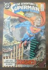 The Adventures of Superman Issue #450 (January 1989, Dc Comics) Banished!