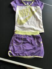 NEW NIKE JUMPMAN SHORTS TANK 2 Piece SET Size 6 Pink Purple Navy Blue NWT D002