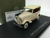 1/43 EBBRO 44354 DATSUN 17 PHAETON 1938 IVORY model car