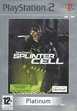 TOM CLANCY'S SPLINTER CELL for Playstation 2 PS2 - with box & manual - PAL