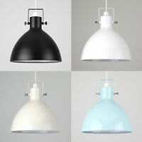 Industrial Easy Fit Design Dome Pendant Ceiling Light Shade Kitchen Lighting