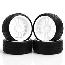 4X Pattern Tires&Wheel Hub For HPI HSP RC 1:10 On-Road Drift Car PP0069/PP0292