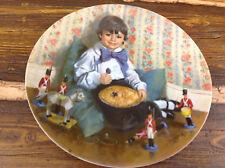 Reco Plate Little Jack Horner Mother Goose Series John McClelland Ex Usa Made
