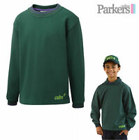 "BRAND NEW SCOUT SHOP OFFICIAL UNIFORM CUB TOP SWEATSHIRT CUBS SCOUT SIZE 24""-34"""