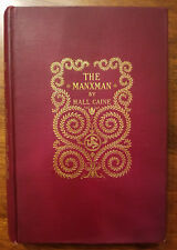 The Manxman: A novel by Hall Caine, H.C. 1895 The book a Hitchcock film based on