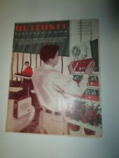 Vintage Heathkit Electronic Kits 1963 Catalog