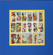 QUIK DRAW MCGRAW AUGGIE DOGGIE SNAGGLEPUSS CARD SHEET MATTED PRINT HB
