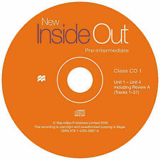 New Inside Out Pre-intermediate: Class Audio CD, Vaughan Jones,Sue Kay, Good, Au