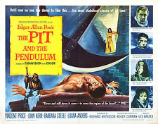 The Pit and the Pendulum - Vincent Price - A4 Laminated Mini Poster