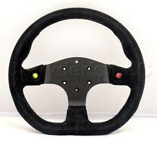 Sport Line 330mm Steering Wheel - Runner 2000 - Black Suede Leather - 20200/S