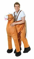 Adult Step in Horse Fancy Dress Costume – Cowboy Western Outfit AC240