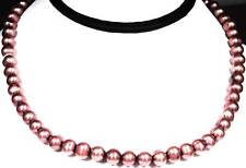 """Genuine Freshwater Pearl Necklace 16"""" Spring Ring Clasp"""