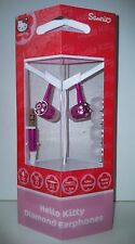 ECOUTEURS INTRA AURICULAIRES HELLO KITTY POUR MP3, MP4, Iphone, Ipod... NEUFS
