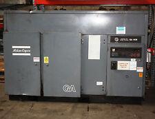 Atlas Copco Screw Compressor GA 608 45kw 60hp 220cfm air end done 2 years ago