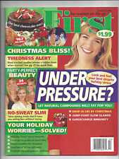 First Womens Mag Dec 11 2006 Christmas Crafts Recipes Celebrity Diet