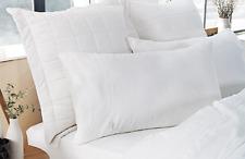 NEW Sheridan Abbotson 100% Linen Standard Pillowcases - White 50cm x 75cm