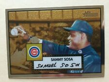 2001 Topps Heritage Chrome CP72 Sammy Sosa 524/552 Chicago Cubs