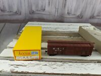 MKT 95653 accurail brown boxcar car toy HO freight