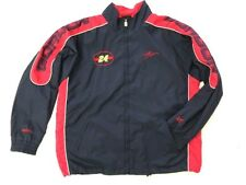 Nascar Jeff Gordon XL Blue Red Race Car Driver #24 Nylon Jacket Coat Spell Out