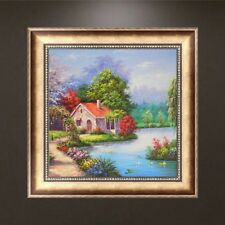 DIY 5D Cabin Scenery Diamond Embroidery Painting Cross Stitch Crafts Home Decor