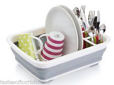 Kitchen Craft Grande apilables Lavaplatos Drenaje Tabla Escurridor Cubiertos