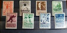 Russia, USSR, 1938, Sport, SC# 698-705, Zag#558-65, MLHOG, CV$210.00