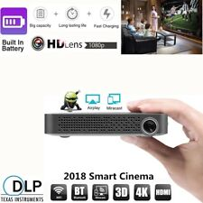 DLP 5500 Lumens Portable Android Wifi HD 1080P Projector 4K TV Home Theater HMDI