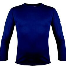 SIOEN Sio-Fit Men THERMAL Long Sleeve T-SHIRT Crew Neck Base Layer NAVY BLUE XXL