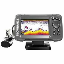 New listing Lowrance HOOK2 4x Fish Finder with Bullet Skimmer Transducer