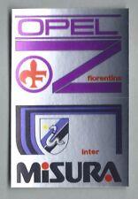 SPONSOR CALCIATORI PANINI 1985/86 - RECUPERO N.084 FIORENTINA/INTER
