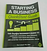 Starting a Business QuickStart Guide: Simplified Guide to Small Business (Book)