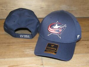 Fanatics Columbus Blue Jackets NHL Center Ice Adjustable Hat Cap size Men's