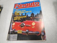 LE FAN AUTO LE FANATIQUE DE L AUTOMOBILE N° 232 fevrier 1988 alpina B11  *