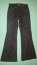 "7 For All Mankind ""Ginger"" Flare Women's Jeans size 24, inseam 30"
