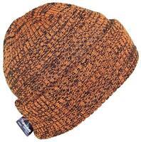 Best Winter Hats 3M 40 Gram Thinsulate Insulated Beanie - Orange/Black