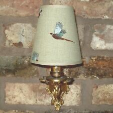 Sophie Allport - Small Handmade Candle Clip Lampshade for Wall Lights/Chandelier