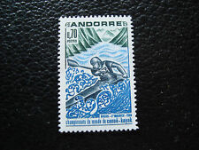 ANDORRE (francais) - timbre yvert et tellier n° 196 n** (A19) stamp andorra (T)
