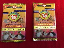 1998 TY BEANIE BABIES OFFICIAL CLUB COLLECTOR'S CARDS - SERIES I - 1ST EDITION