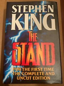 The Stand by Stephen King (Hardback 1990) Complete and uncut edition
