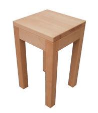 Beistelltisch Holztisch Buche  massiv gedämpft. Maße : 32x32x50cm hoch.