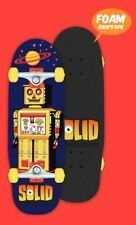 SOLID Spacebot Kinder Complete Skateboard mit Foam Grip