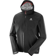 NEW! Salomon Bonatti WP Men's Hikes Running Jacket L39268400 Color Black Small