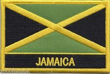 Jamaica Flag Embroidered Patch Badge - Sew or Iron on