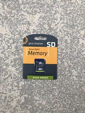 Promaster 16GB High Speed Memory Card Code 1170