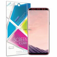 [2 Piece] Samsung Galaxy S8 Plus Full Screen Coverage HD Clear Protector Edges