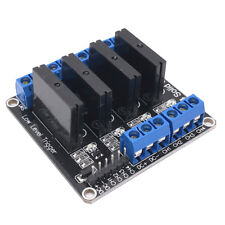 12V 4 CH Low Level trigger Solid State Relay Module with Fuse 240V 2A Output